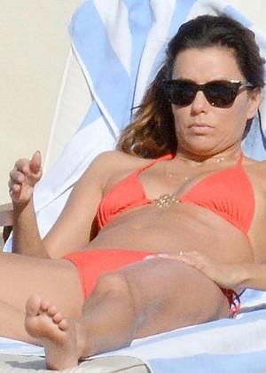 Eva Longoria bikini in Capri-05