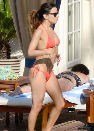 Eva Longoria bikini in Capri-09