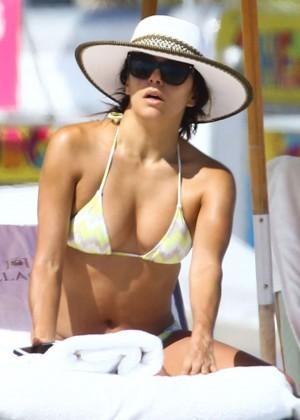 Eva Longoria Hot Bikini Photos in Miami