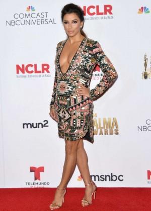 Eva Longoria - Winner's Walk During the 2014 NCLR ALMA Awards in Pasadena