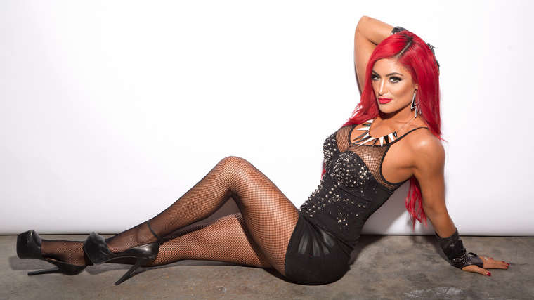 Eva Marie - 2014 Extreme Rules Divas Photoshoot-01 | GotCeleb