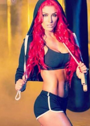 Eva Marie - Iron Man Magazine Photoshoot 2014