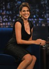 Eva Mendes – Cleavage and Leggy Candids at Late Night with Jimmy Fallon in NYC