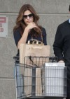 Eva Mendes Wear Sunglasses and Jeans -14