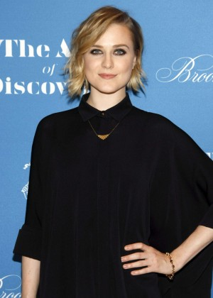 Evan Rachel Wood  - Jeff Vespa's The Art Of Discovery Book Launch in Beverly Hills