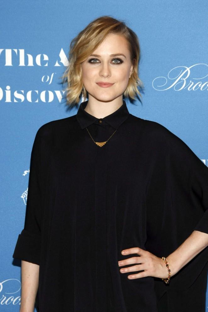Evan Rachel Wood  - Jeff Vespa's The Art Of Discovery Book Launch in Beverly Hills