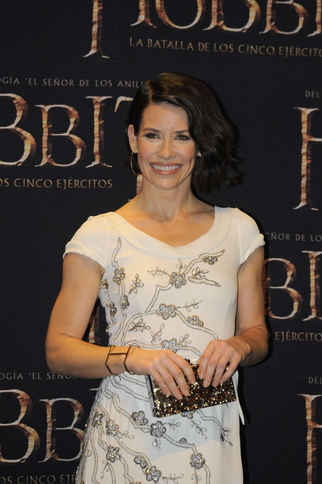 Evangeline Lilly - 'The Hobbit: The Battle of the Five Armies' Premiere in Mexico City