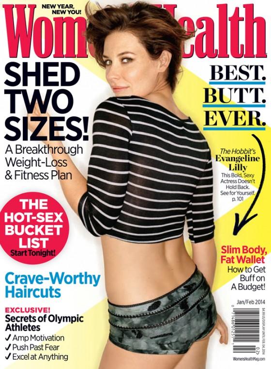 Evangeline Lilly: Womans Health Magazine -02
