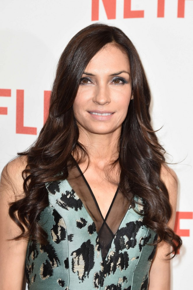 "Famke Janssen - ""Netflix"" Launch Party at Le Faust In Paris"