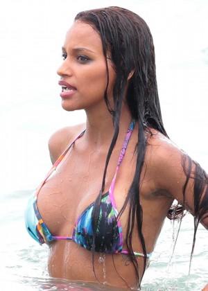 Fanny Neguesha Bikini Photos: Miami -05