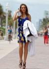 Farrah Abraham in a yellow bikini -31