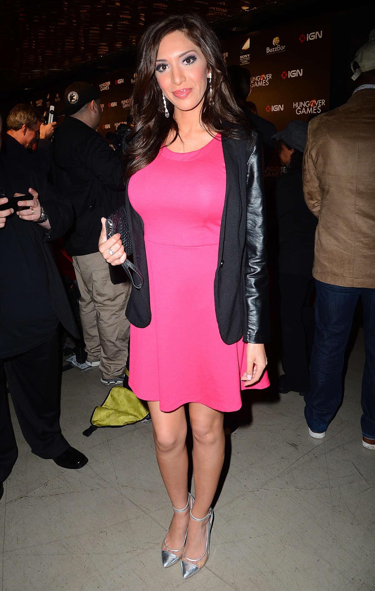 Farrah Abraham 2014 : Farrah Abraham – The Hungover Games Los Angeles Premiere -01