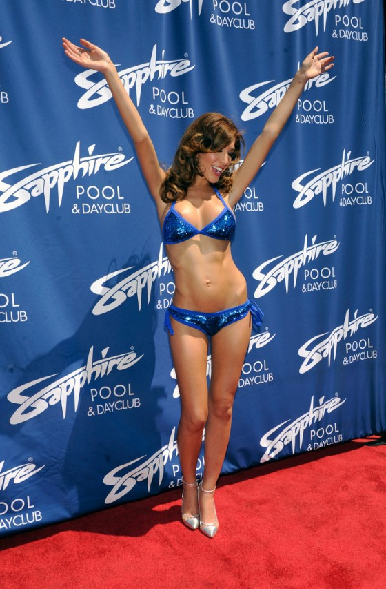 Farrah Abraham - wearing a Bikini at a Sapphire Pool Party in Las Vegas-06