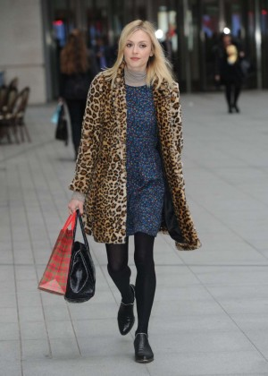 Fearne Cotton at BBC Radio 1 Studios in London