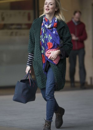 Fearne Cotton in Jeans at BBC Radio 1 Studios in London