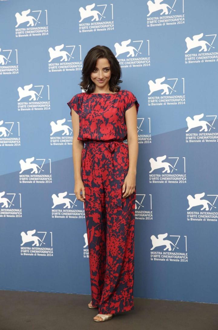 """Federica De Cola - """"Il Giovane Favoloso"""" Premiere & Photocall at 71st Venice Film Festival"""