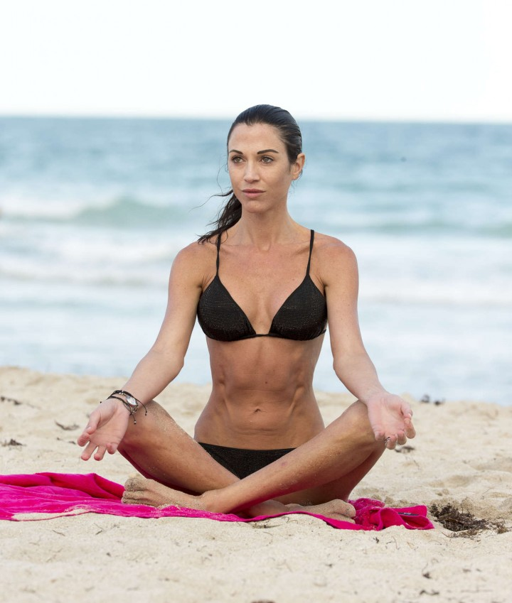 Federica Torti Black Bikini Photos: 2014 in Miami -10