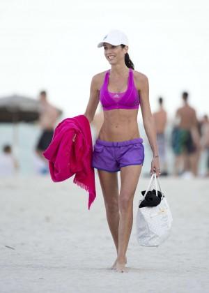 Federica Torti Black Bikini Photos: 2014 in Miami -13