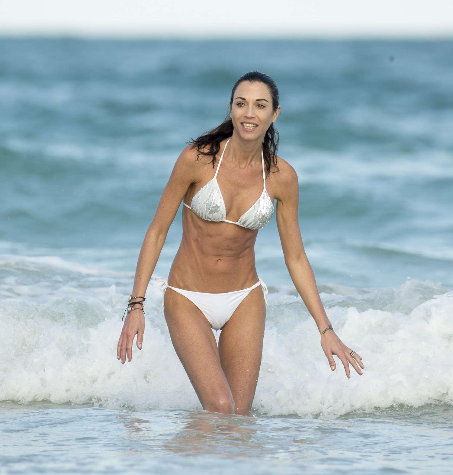 Hot italian woman bent over naked