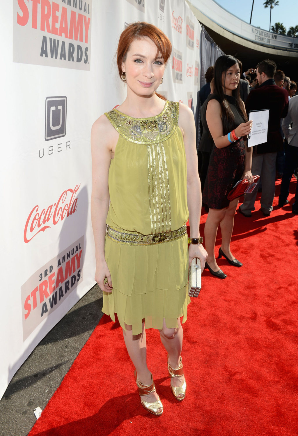 Felicia Day 2013 : Felicia Day – 2013 Streamy Awards -01