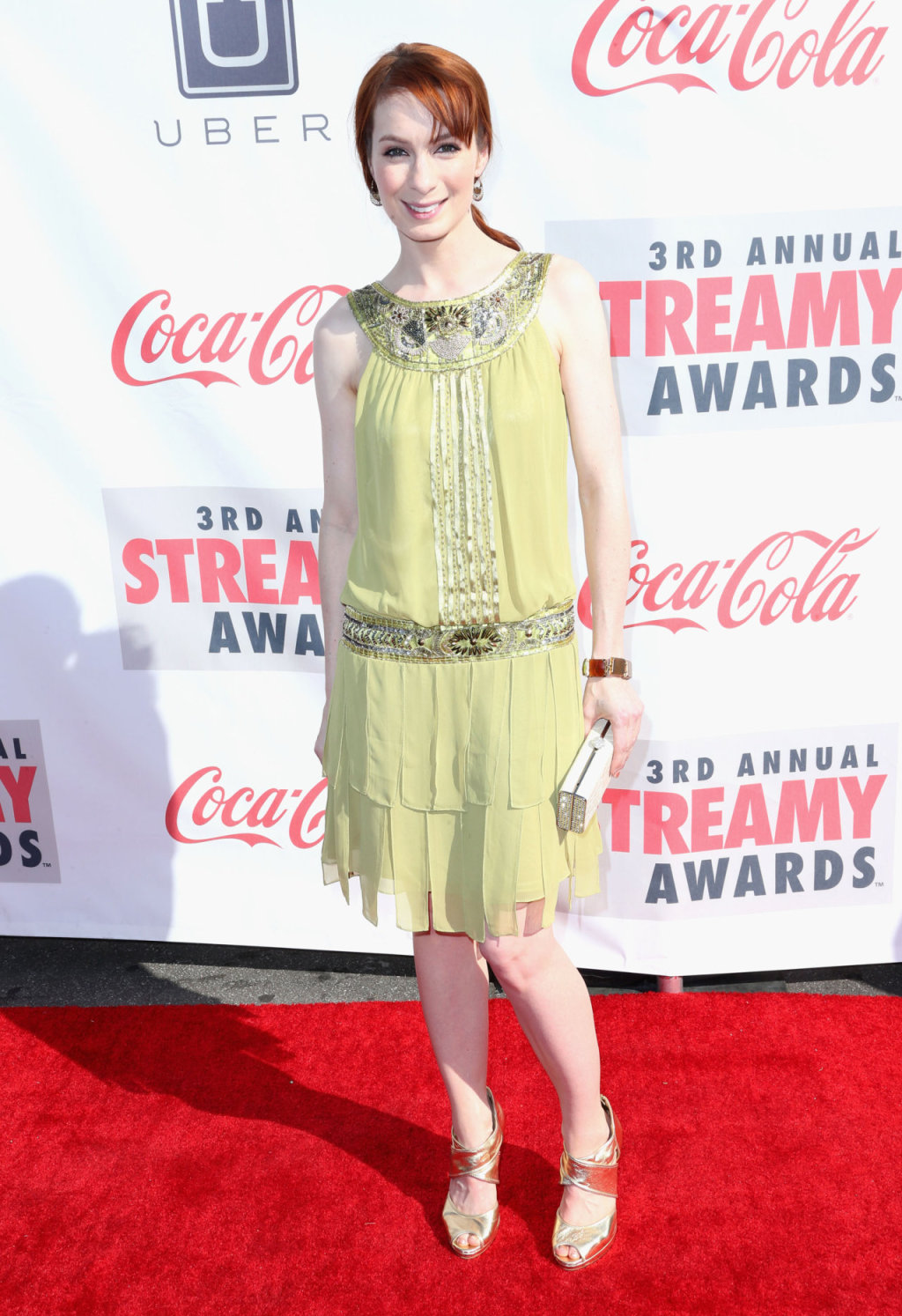 Felicia Day 2013 : Felicia Day – 2013 Streamy Awards -03