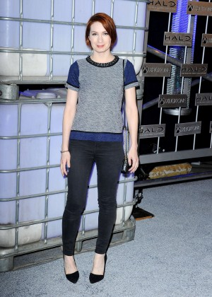 Felicia Day - HaloFest 'Halo: The Master Chief Collection' Launch Event in Hollywood