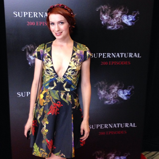 Felicia Day - Supernatural Celebrates 200 Episodes