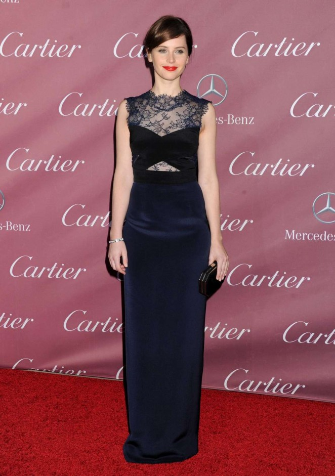 Felicity Jones - 26th Annual Palm Springs International Film Festival Awards Gala