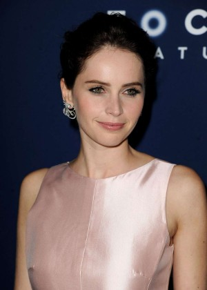 "Felicity Jones - ""The Theory Of Everything"" Premiere in Beverly Hills"