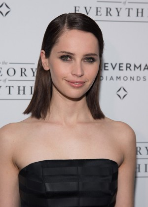 "Felicity Jones - ""Theory Of Everything"" Premiere in New York"
