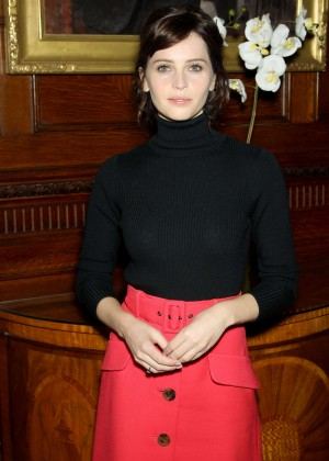 Felicity Jones - 'The Theory Of Everything' Luncheon in NYC