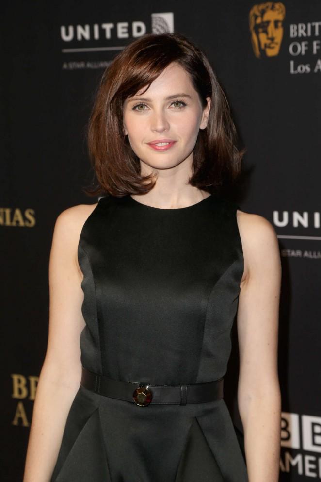 Felicity Jones - 2014 BAFTA Los Angeles Jaguar Britannia Awards in Beverly Hills