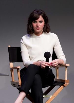 Felicity Jones: Breathe In NY Premiere -03