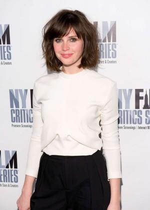 Felicity Jones: Breathe In NY Premiere -04
