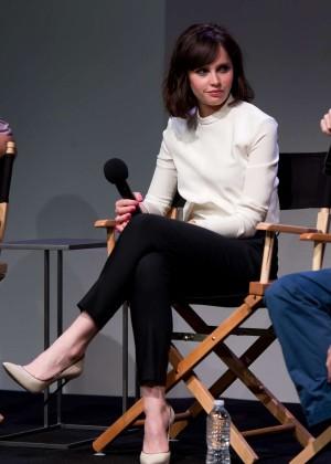 Felicity Jones: Breathe In NY Premiere -11