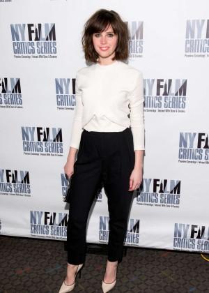 Felicity Jones: Breathe In NY Premiere -13