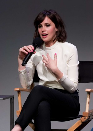 Felicity Jones: Breathe In NY Premiere -17