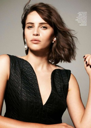 Felicity Jones - Tatler UK Magazine (January 2015)