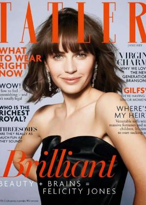 Felicity Jones  Tatler UK Magazine (January 2015)-07
