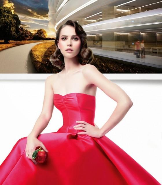 Felicity Jones: Vanity Fair Magazine -01