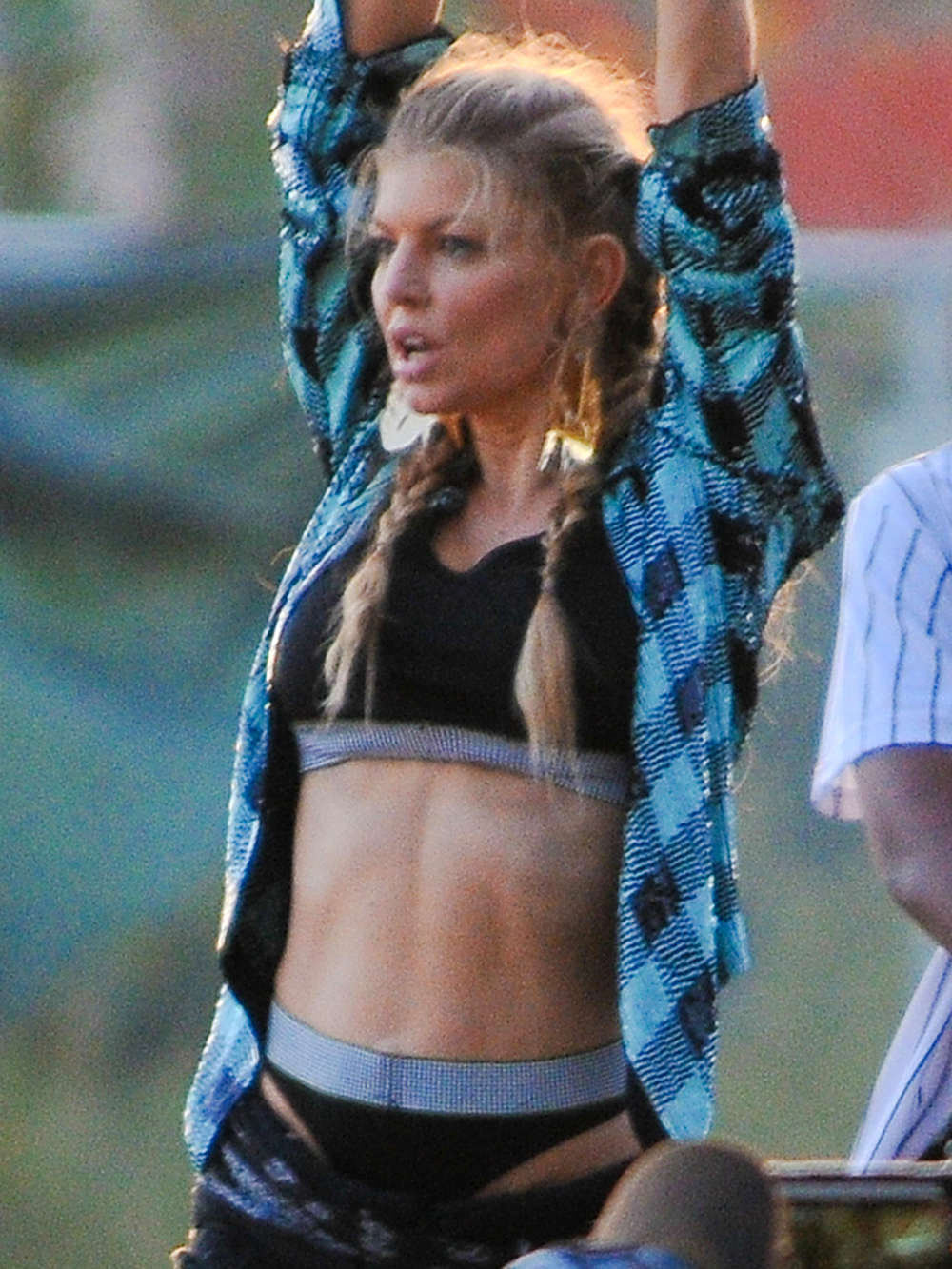 Fergie Filming a Music Video -10 - GotCeleb Fergie Songs