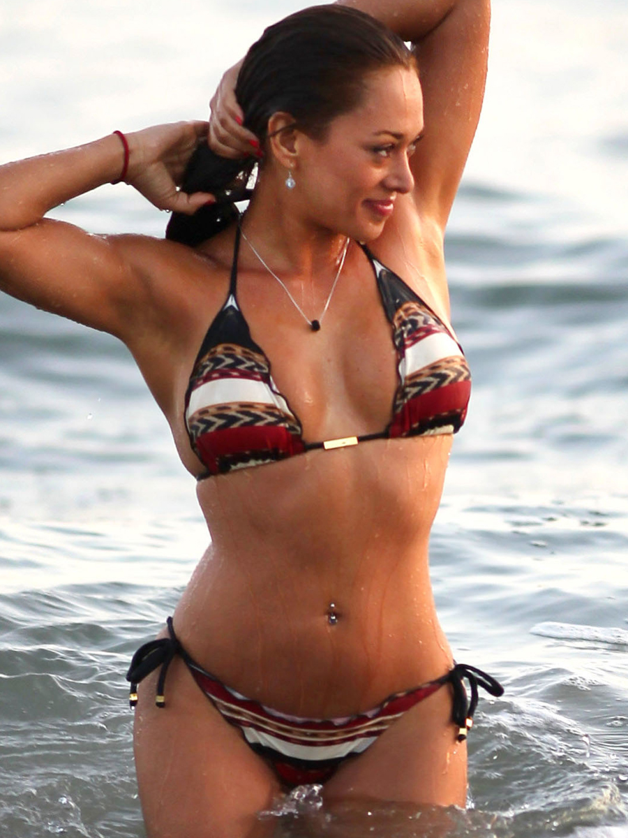 Fernanda Marin 2013 : Fernanda Marin – Bikini Candids on the Beach in Malibu-06