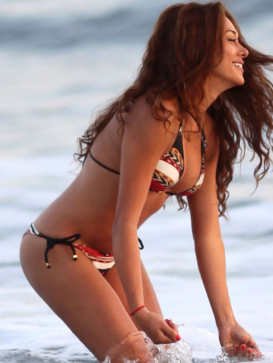 Fernanda Marin 2013 : Fernanda Marin – Bikini Candids on the Beach in Malibu-09