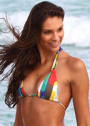 Fernanda Uesler Bikini Photos: 2014 Miami -05