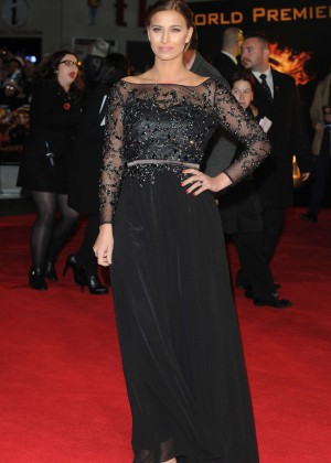 Ferne McCann - 'The Hunger Games: Mockingjay Part 1' Premiere in London