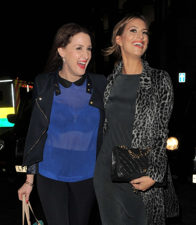 Ferne McCann at The Riding House Cafe-01