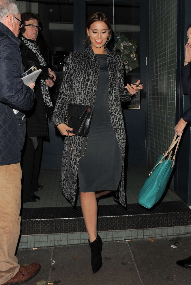 Ferne McCann at The Riding House Cafe-03