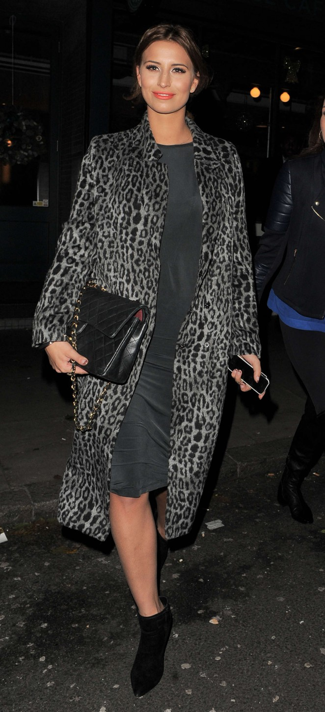 Ferne McCann at The Riding House Cafe-04