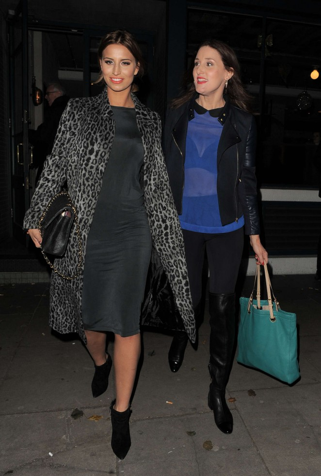 Ferne McCann at The Riding House Cafe-06
