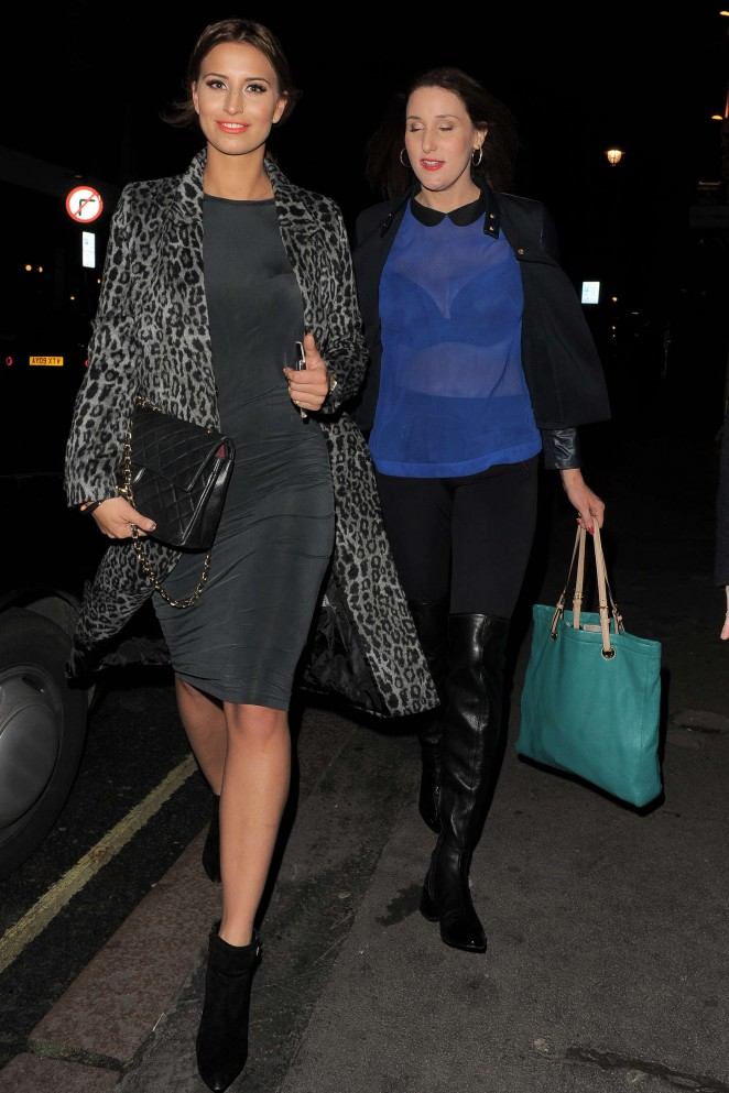 Ferne McCann at The Riding House Cafe-07